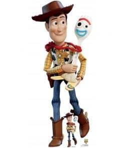 Disney Toy Story 4 Woody & Forky Cardboard Cutout