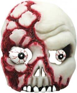 Bloody Half Skull Mask