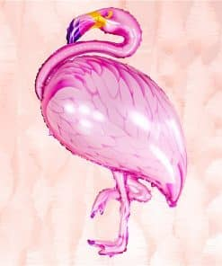 Flamingo Supershape Foil Balloon