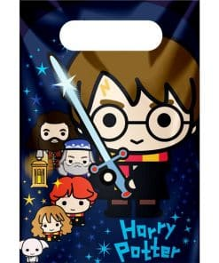 Harry Potter Plastic Party Bags