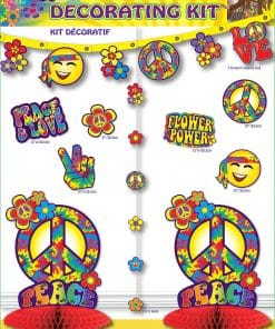 Hippie Party Decorating Kit