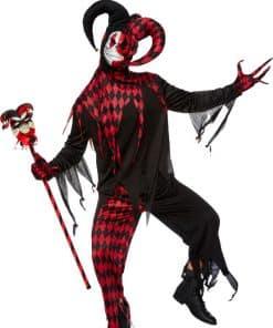 Krazed Jester Adult Costume