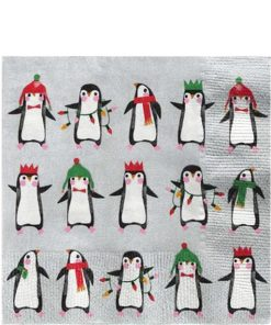 Penguin Parade Napkins