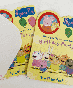 Peppa Pig Party Invites