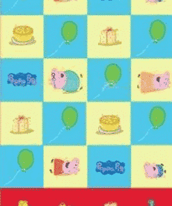 Peppa Pig Party Plastic Tablecover