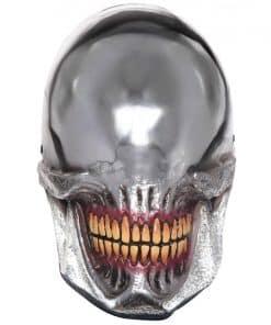 Silver Smile Mask