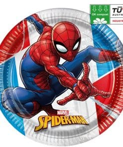 Spider-Man Compostable Plates