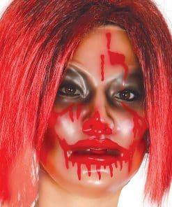 Transparent Bloody Mask