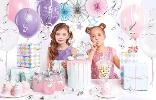 35 Piece Unicorn Party Decoration Kit