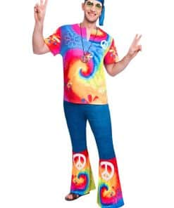 60s Free Spirit Hippie Adult Costume