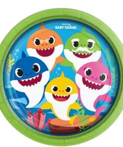 Baby Shark Paper Plates