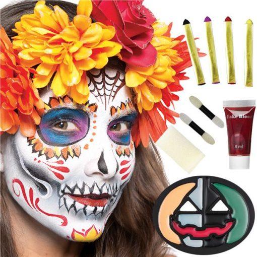 Family Halloween Face Make-Up Kit