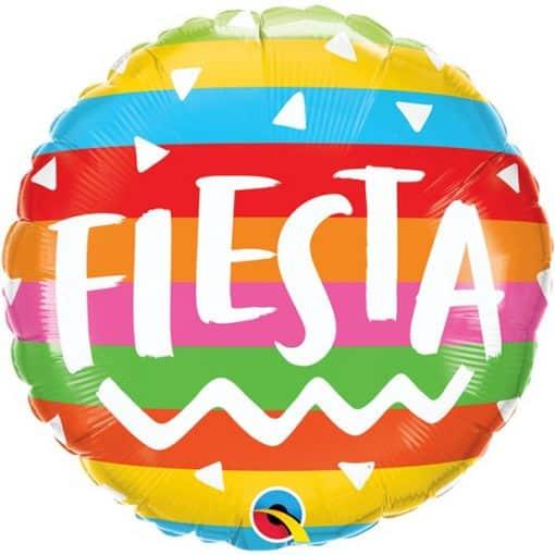 Fiesta Rainbow Stripes Balloon