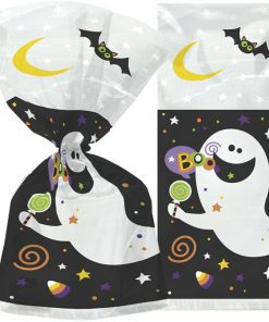 Happy Halloween Ghost Cello Bags