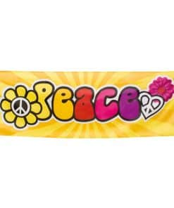 Hippie 'Peace' Giant Banner