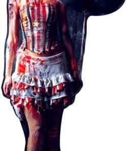 Halloween Scary Female Clown Lifesize Cardboard Cutout