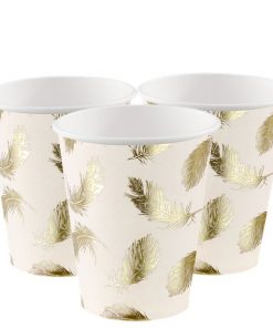 Lovely Swan Paper Party Cups
