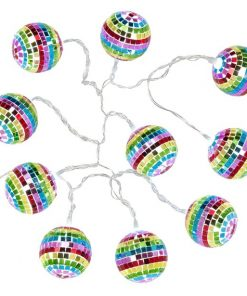 Mini Rainbow Disco Ball Light String