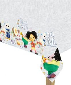 Moon and Me Plastic Tablecover