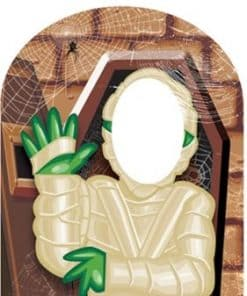 Halloween Mummy Stand-In Cardboard Cutout