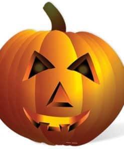 Halloween Pumpkin Giant Cardboard Cutout