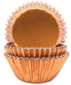Rose Gold Foil Cupcake Cases
