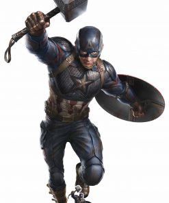 Captain America Mjolnir Cardboard Cutout