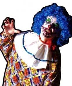 Halloween Scary Male Clown Lifesize Cardboard Cutout