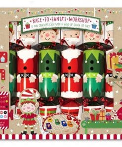 Santa Workshop Racing Crackers