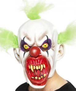 Sinister Clown with Hair