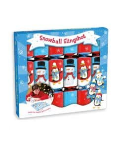 Snowball Slingshot Christmas Crackers