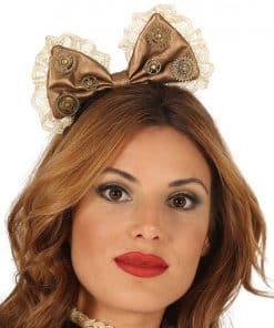 Steampunk Bow Headband