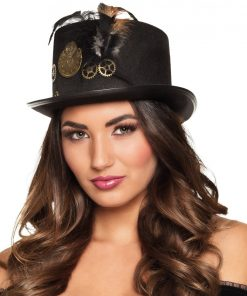Steampunk Gear Hat