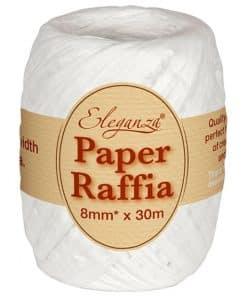 White Paper Raffia