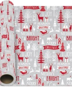 Cosy Christmas Gift Wrapping Paper