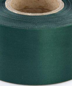 Dark Green Polyester Satin Ribbon