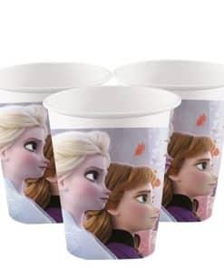 Disney Frozen 2 Paper Party Cups - 200ml