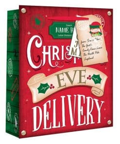 Extra Large Christmas Eve Personalised Delivery Gift Bag