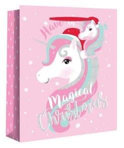 Extra Large Magical Unicorn Christmas Gift Bag