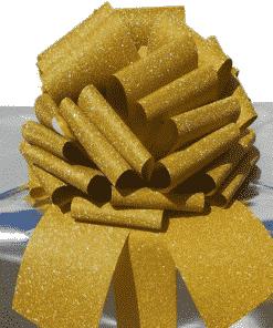 MEGA Glitter Gold Giant Gift Bow