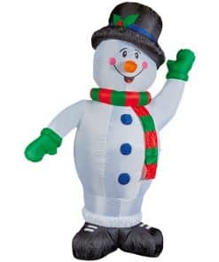 Inflatable Happy Snowman