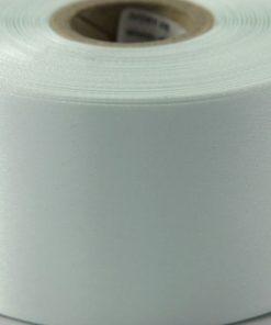 Ivory Polyester Satin Ribbon