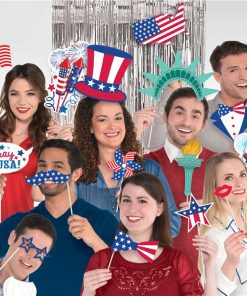 USA Party Supplies - 4th July