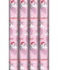 Magical Unicorn Christmas Wrapping Paper