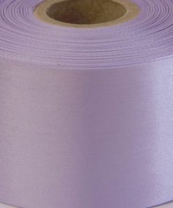 Mauve Polyester Satin Ribbon