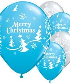 Merry Christmas & Reindeer Balloons