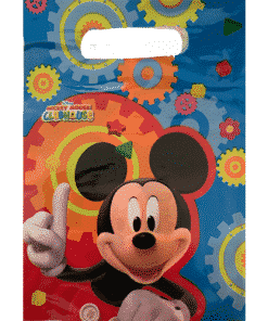 Mickey Mouse Party Clubhouse Plastic Loot Bags