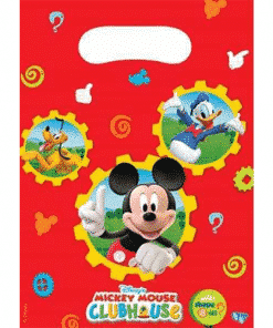 Mickey Mouse Clubhouse Party Plastic Loot Bags