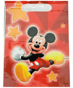 Mickey Mouse Party Plastic Loot Bags
