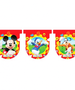 Mickey Mouse Pluto Donald Duck Bunting
